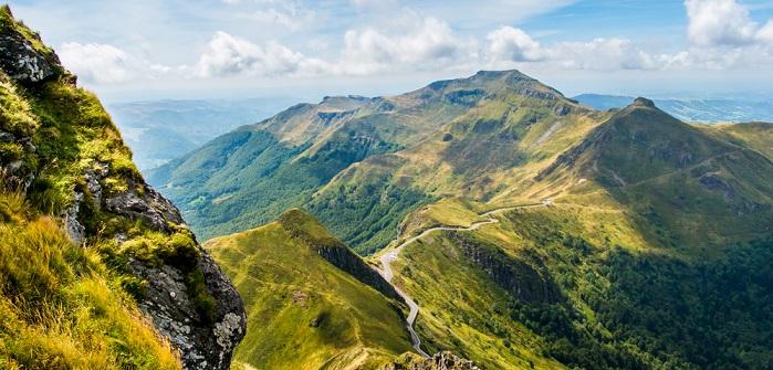 Quer durch die Auvergne